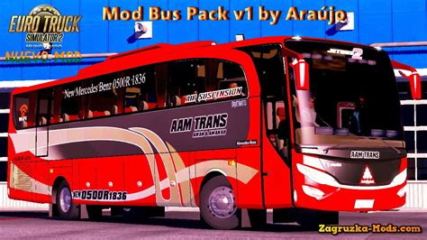 mod bus game euro truck simulator mod bus pack v1 0 by ara 250 jo for ets 2 187 download game mods
