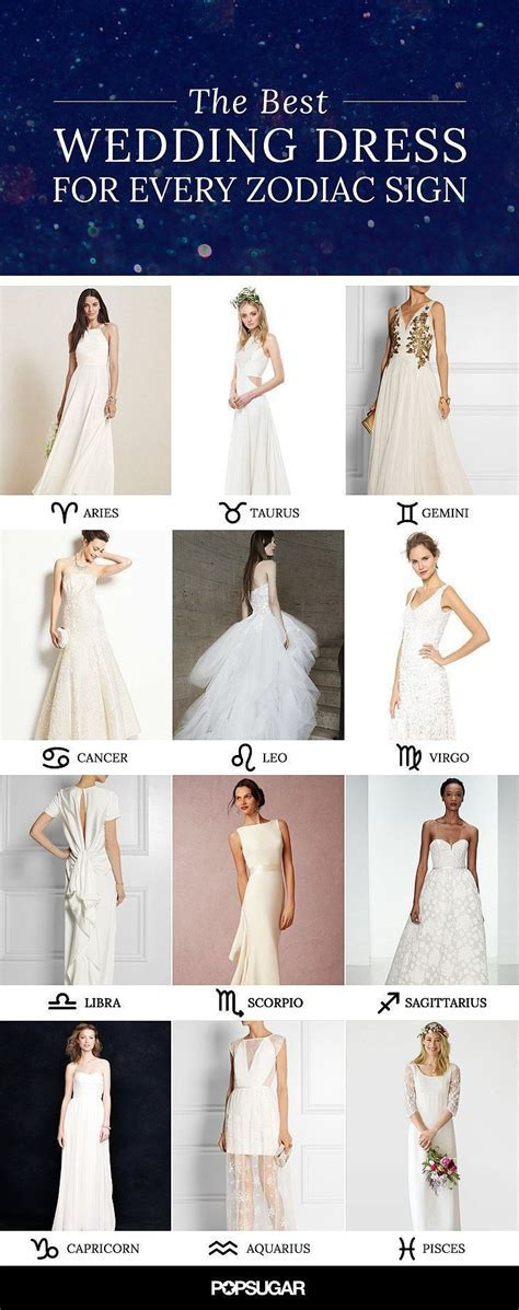 The Perfect Wedding Dress For Every Zodiac Sign   Lace