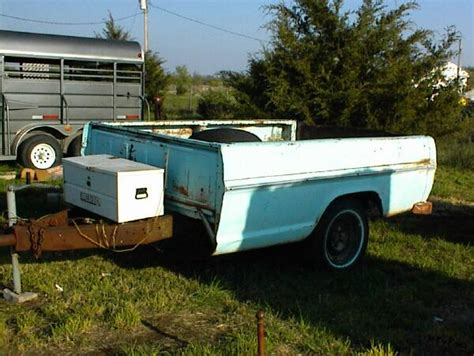 pickup bed trailer escort trailers autos post