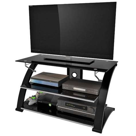 40 inch tv cabinet z line designs vitoria 40 inch tv stand with black glass
