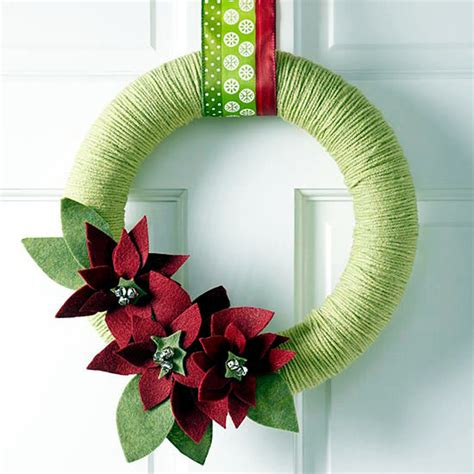 Decorate Kitchen Island ask the same door wreath christmas 18 diy creative ideas