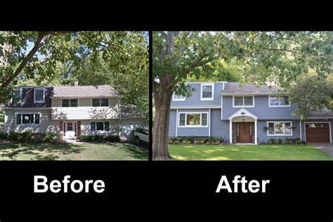 house facade renovation before and after siding contractor certainteed hardie a e construciton princeton nj a e construction