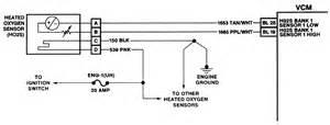 oxygen sensor harness in location 1994 chevy k1500