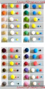 mixing colors chart таблица смешивания цветов color mixing chart мастер