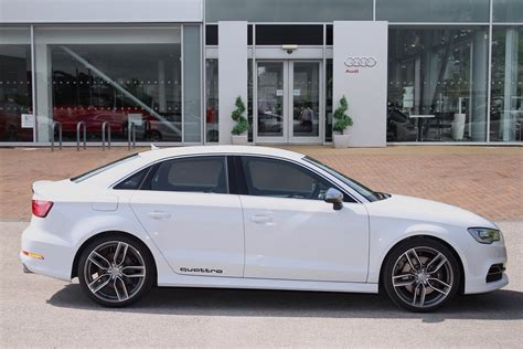 Audi Quattro Decals by Quattro Decals On Glacier White S3 Sportback Pic Request