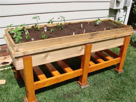 Diy Vegetable Planter Box by 12 Outstanding Diy Planter Box Plans Designs And Ideas