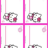 printable name tags hello kitty 8 best images of free printable hello kitty name tags