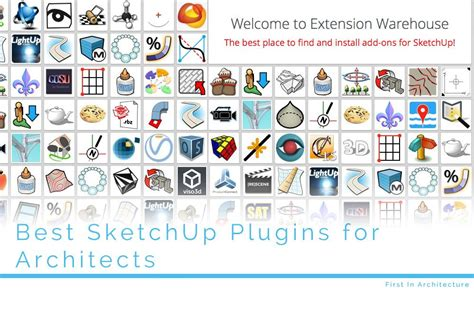best sketchup plugins best sketchup plugins for architects first in architecture
