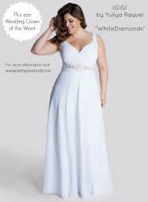and white plus size wedding dresses plus size wedding dress of the week the pretty pear