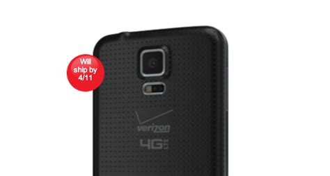 Samsung Galaxy S5 16gb Charcoal Black Second Preorder Kode 639 verizon galaxy s5 release confirmed pre orders live now