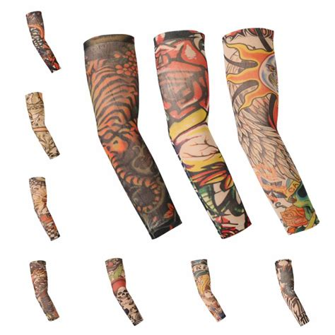 tattoo arm protector lots stretch cool arm sleeves cover tattoo warm team sun