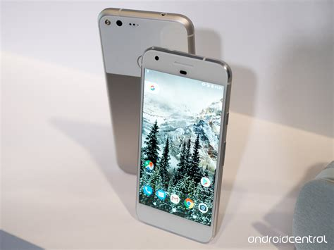 hands on with pixel the most googley android phone ever greenbot google pixel and pixel xl hands on android central