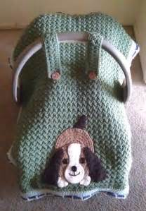 Car Seat Covers For Dogs Pattern Crocheting Playful Puppy Car Seat Canopy This Doggie