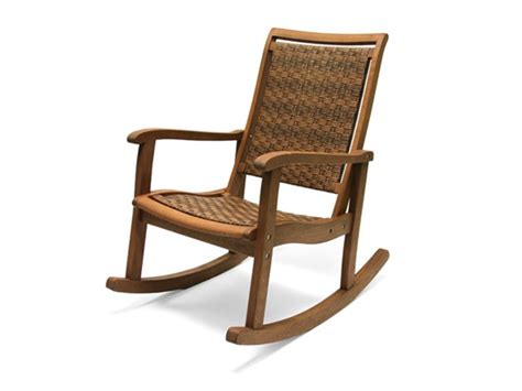 All Weather Wicker Rocking Chairs by Outdoor Interiors All Weather Rocking Chair Tools Garden