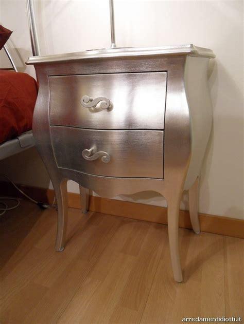 comodino argento comodini foglia argento offerta camere a prezzi scontati