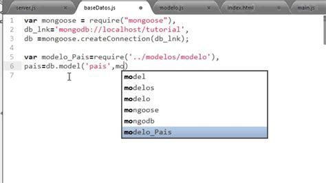 node js mongodb tutorial youtube insertar y crear schemas mongodb mongoose y node js youtube