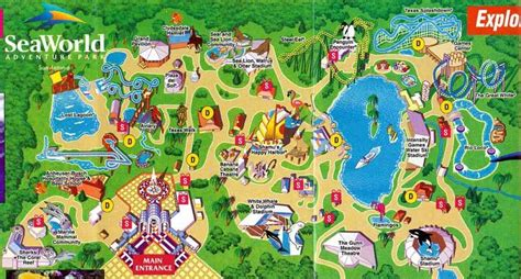 seaworld texas map map of sea world san antonio map travel holidaymapq