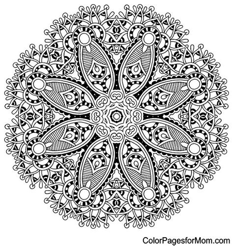 advanced mandala coloring pages printable advanced mandala coloring pages bestofcoloring