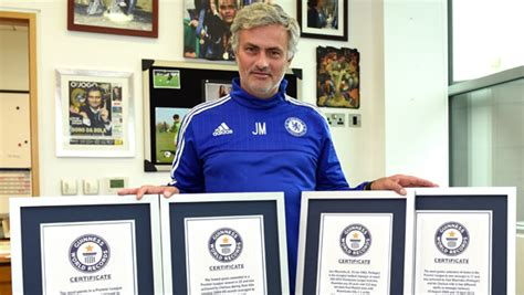 vision book of football records 2015 the libro e ro leer en linea jose mourinho ronaldo and yaya toure among new football title holders in guinness world records