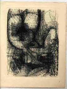 doodle zorn marcel gromaire original radierung etching gravure