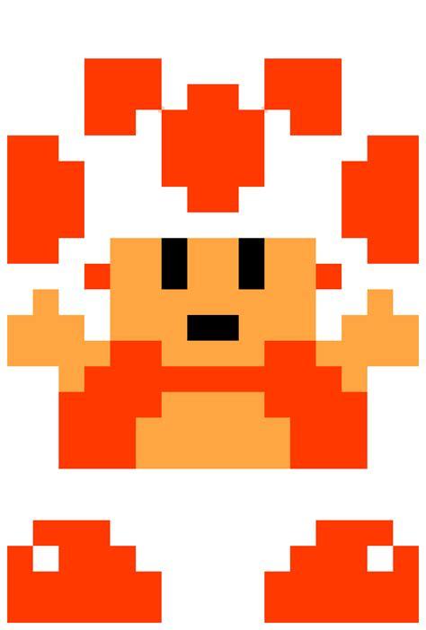 pixel art toad playing nintendo nes pixelated super image 8 bit toad png fantendo nintendo fanon wiki
