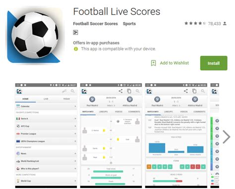 fb live top 12 best football apps for android free soccer apps