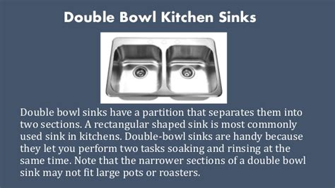 types of kitchen sinks types of kitchen sinks