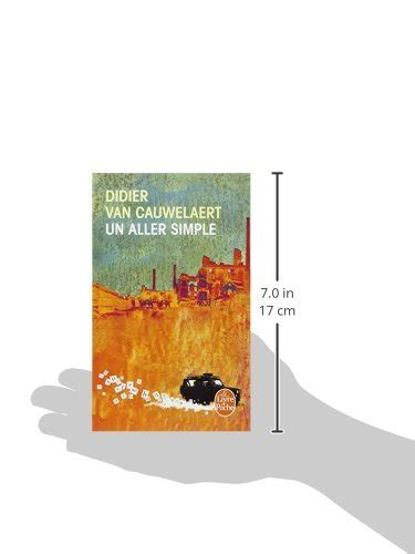 libro un aller simple fiction libro un aller simple di didier van cauwelaert