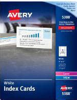Cp Avery avery adhesive display cards 3 34 x 3 34 matte white pack of 40 by office depot officemax