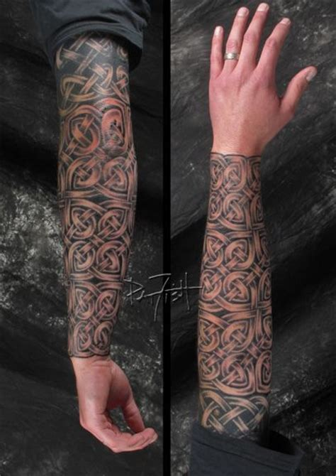 celtic and bali inspired sleeve by meatshop tattoo on celtic style tattoos and their universal meaning tattoo