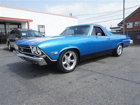 chevrolet el camino for sale 1968 chevrolet el camino for sale on classiccars