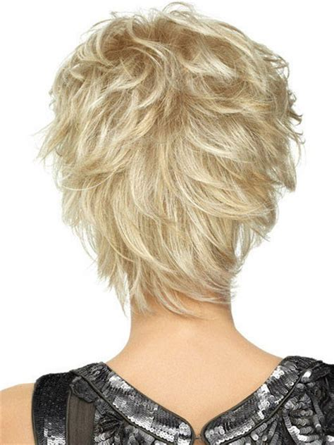 spikey short wigs playful short shag lightweight spiky cut wig lace front