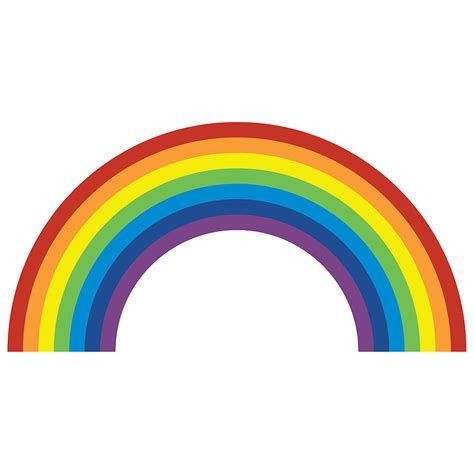 Rainbow Wall Stickers rainbow wall sticker by spin collective