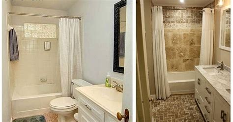 bathroom remodeling ideas before and after little house in the big d bathroom remodel before and