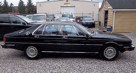 1984 maserati quattroporte an italian winter beater totally that stupid