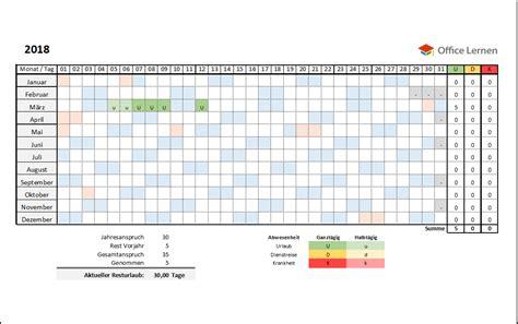 Kalender 2018 Nrw Vorlage Kostenlose Excel Urlaubsplaner Vorlagen 2018 Office