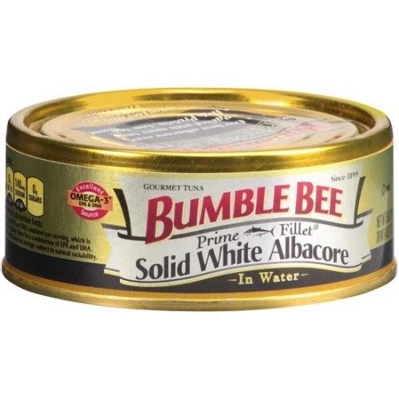 bumble bee solid white albacore tuna in water 5 oz
