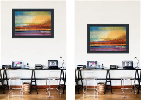 how to hang a painting 5 rules of how not to hang art framedcanvasart com