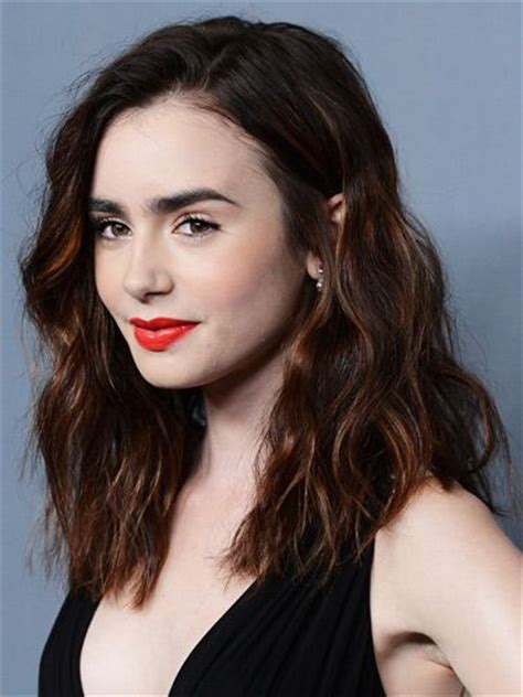 lily collins great hair and lip colour game is as famous as she is best 25 lily collins hair ideas on pinterest lilly