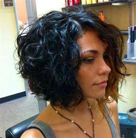 different hairstyles for short layered kinky curly hair 20 curly short bob hairstyles bob hairstyles 2017