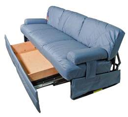 knife sofa rv jackknife sofa replacement sleeper