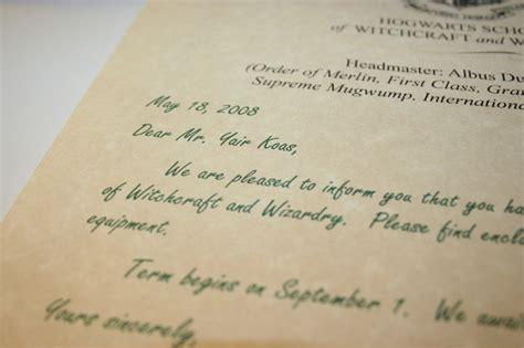 Hogwarts Acceptance Letter Fiverr Create A Hogwarts Acceptance Letter Set Fiverr