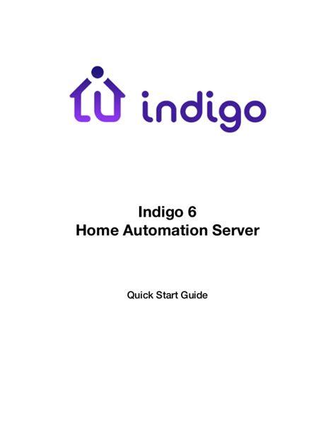 indigo 6 start guide