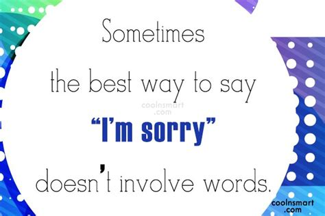 7 Ways To Say Im Sorry by Sorry Quotes Images Pictures Page 4 Coolnsmart