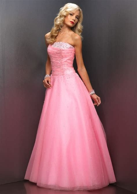 baby pink prom dress 2013 di candia fashion