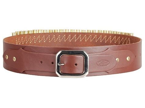 adjustable cartridge belt cal leather