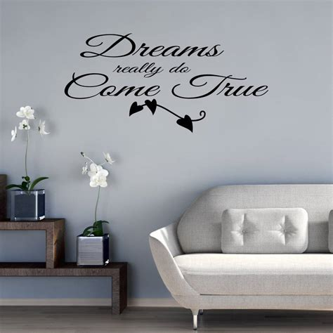 do wall stickers come dreams really do come true wall sticker by mirrorin