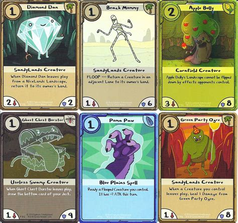 cards adventure time displaying gt images adventure time card wars cards
