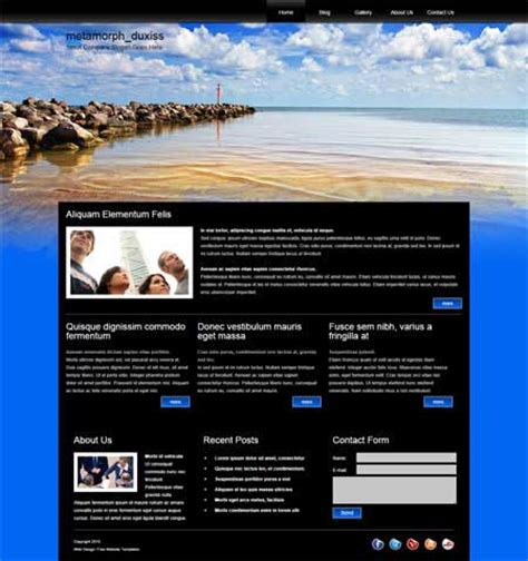 free flash site templates free web templates cyberuse