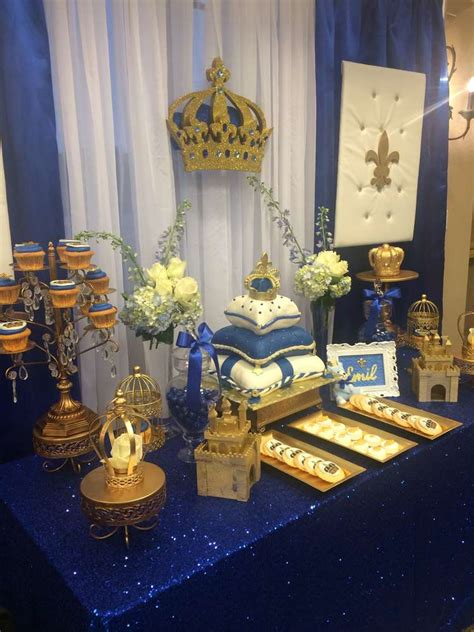 Royal Prince Decorations by Royal Prince Baby Shower Ideas Royal Prince Baby